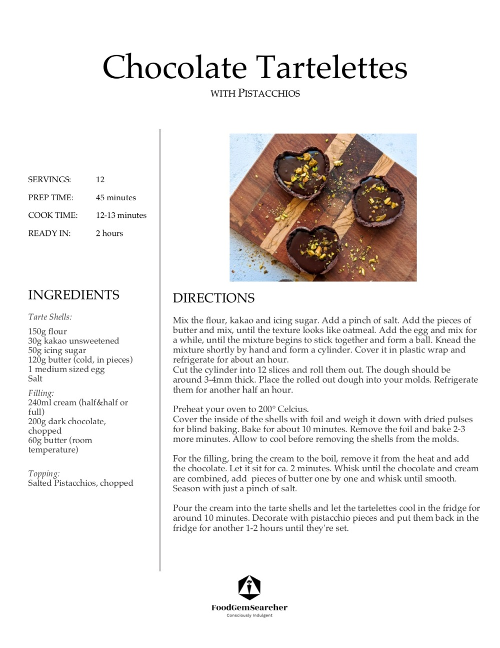 Tartelettes_Recipe